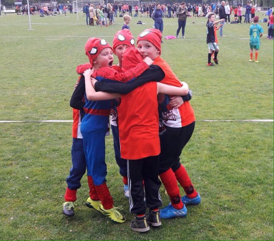 Winnaars stratenkorfbal jeugd