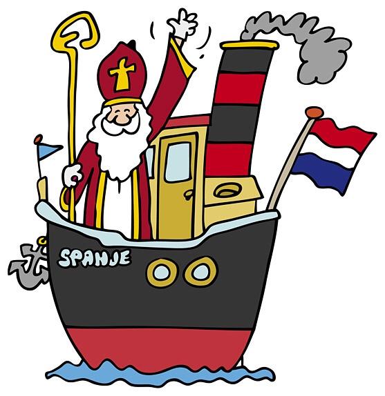 Sinterklaasfeest, woensdag 5 december!!