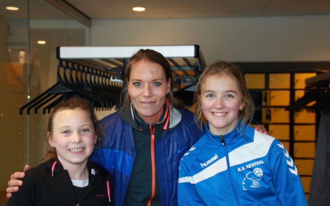 Atletiek clinic Nadine Broersen