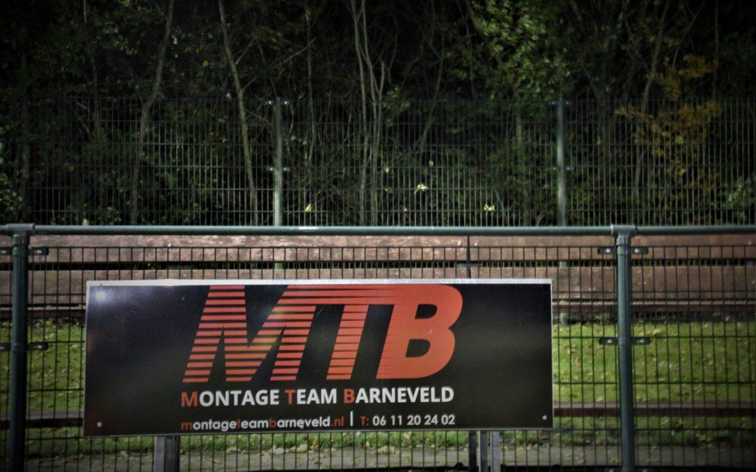 Bord sponsor MTB. Bord officieel overhandigd.